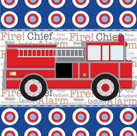 Fire Emergency X Fine-Art Print