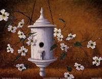 English Bird Cottage Fine-Art Print