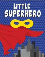 Little Superhero Fine-Art Print