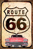 Route 66 Car Fine-Art Print