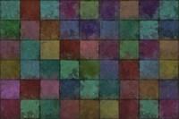 Mosaic Tiles V Fine-Art Print