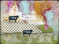 Two Bulls Fine-Art Print