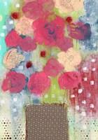 Bright Floral in Vase Fine-Art Print