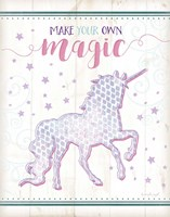Magic Unicorn Framed Print