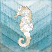 Coastal Seahorse Fine-Art Print
