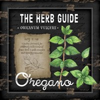 Herb Guide Oregano Fine-Art Print