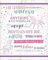 Life Lessons Unicorn Fine-Art Print