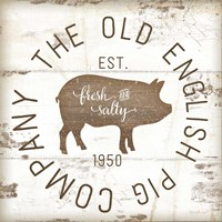 The Old Pig Company II Fine-Art Print