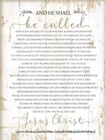 Names of Christ Fine-Art Print