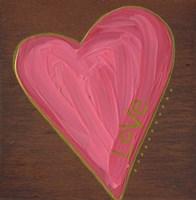 Heart on Wood Fine-Art Print