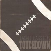Tackle, Pass, Touchdown Fine-Art Print