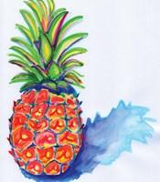 Blue Pineapple Fine-Art Print
