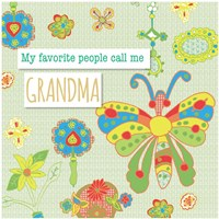 Favorite People Grandma Fine-Art Print