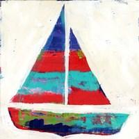 Sailboat Stripe Fine-Art Print
