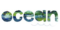 Ocean Sign II Fine-Art Print