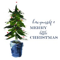 Merry Little Christmas Tree Fine-Art Print