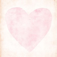 Pink, Peach Heart Fine-Art Print