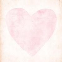 Pink, Peach Heart Fine-Art Print