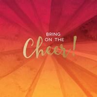 Bring on the Cheer - Orange Fine-Art Print