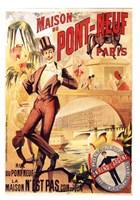 Maison Du Pont Neuf Fine-Art Print