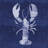 Indigo Lobster II Fine-Art Print