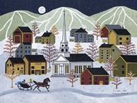 A Winter Night Fine-Art Print