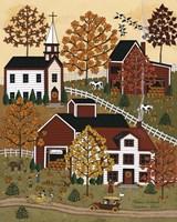 Autumn Drive Fine-Art Print