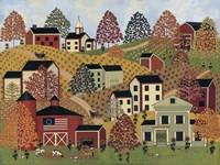 Country Hills Fine-Art Print
