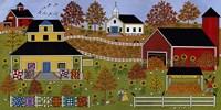 Mamas Quilts And Papas Pumpkins Fine-Art Print