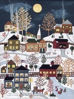 Moonlight In Vermont Fine-Art Print
