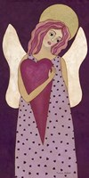 Purple Angel Fine-Art Print