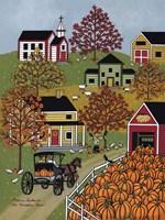 The Pumpkin Barn Fine-Art Print