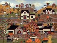 The Pumpkin Festival Fine-Art Print