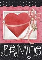 Pink Heart Be Mine Fine-Art Print