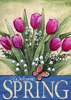 Welcome Spring Tulips Fine-Art Print
