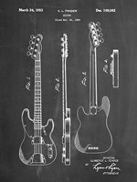 Guitar Patent - Chalkboard Fine-Art Print