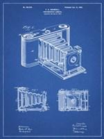 Photographic Camera Patent - Blueprint Fine-Art Print