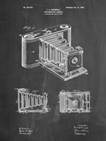 Photographic Camera Patent - Chalkboard Fine-Art Print