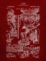 Diver's Suit Patent - Burgundy Fine-Art Print