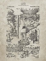 Diver's Suit Patent - Sandstone Fine-Art Print