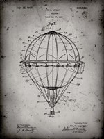 Balloon Patent - Faded Grey Fine-Art Print