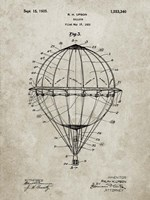 Balloon Patent - Sandstone Fine-Art Print