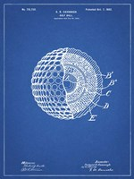 Golf Ball Patent - Blueprint Fine-Art Print
