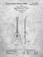 Stringed Musical Instrument Patent - Slate Fine-Art Print