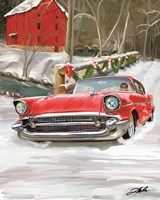 57 Chevy Christmas Fine-Art Print