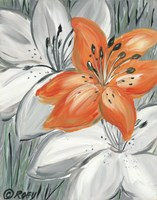 Tiger Lily in Orange Fine-Art Print