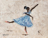 Dancer in Blue Fine-Art Print