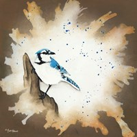 Weathered Friends - Blue Jay Fine-Art Print