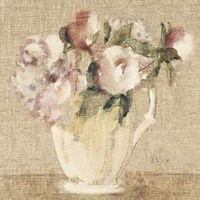 Cottage Bouquet III no Border Fine-Art Print