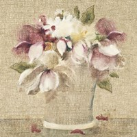 Cottage Bouquet II no Border Fine-Art Print